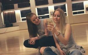 Cecilie og Ane
